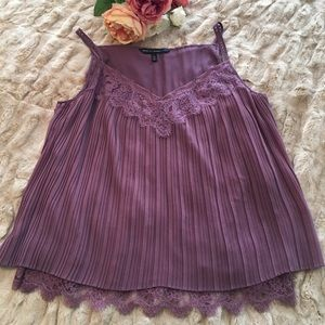 WHBM like new cami, plum, sz L-worn 1x